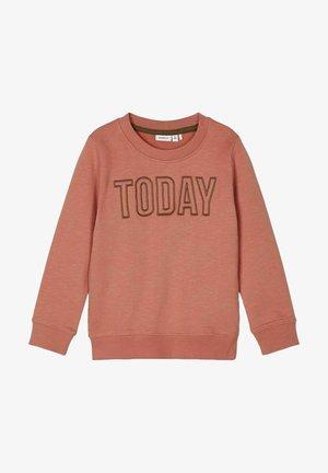 Sweater - apricot brandy