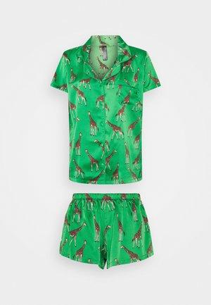 FERIA SHIRT AND SHORT - Pyjamas - green