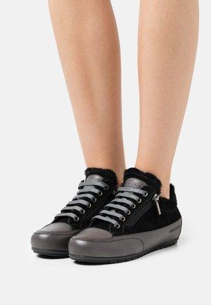 ROCK DELUXE ZIP - Sneakers laag - tamponato/camoscio/monet/antracite/nero