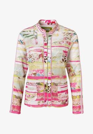 Bomber Jacket - rosa druck