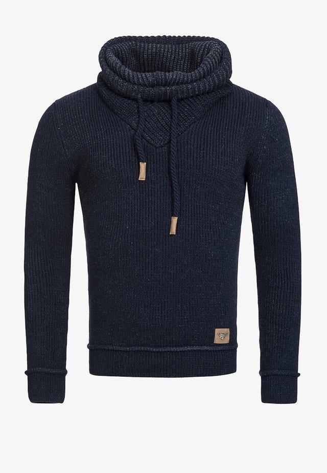 KESHAWN - Sweter - blau