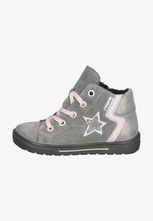 Sneakers hoog - graphit/rose