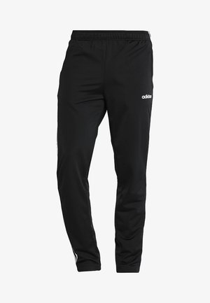 3 STRIPES SPORTS REGULAR PANTS - Verryttelyhousut - black/white