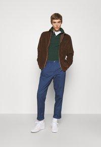 Polo Ralph Lauren - LONG SLEEVE SPORT - Vapaa-ajan kauluspaita - cooper brown - 1