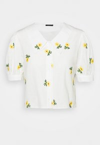 Trendyol - Button-down blouse - white - 3