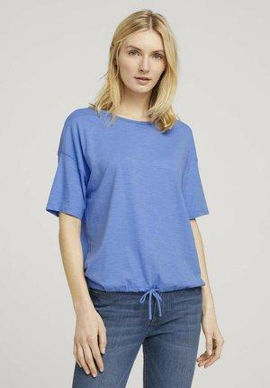 Basic T-shirt - sea blue