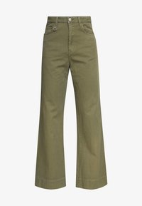 Neuw - MAGAZINE PANT - Trousers - military - 4