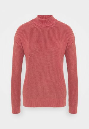 HIGH NECK  - Jumper - red pear