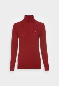 ROLL NECK SWEATER - Stickad tröja - regatta red