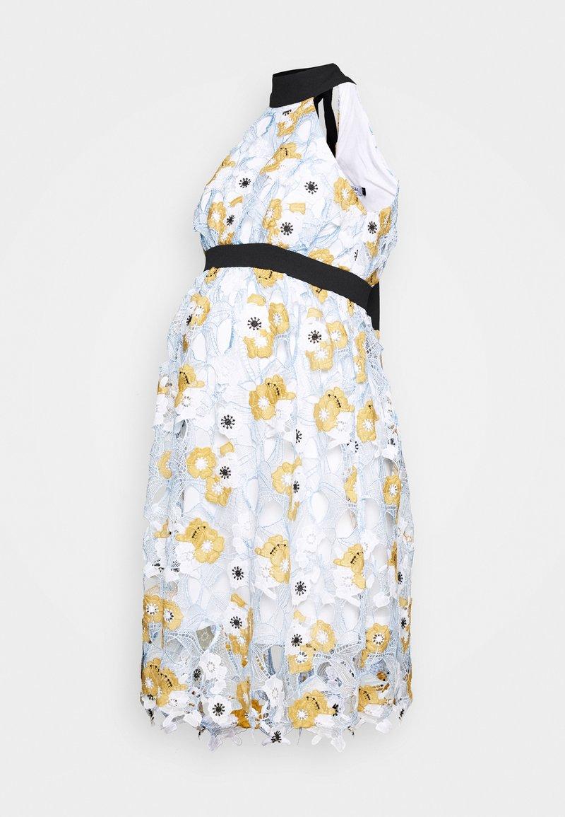 Chi Chi London Maternity - CHESTER DRESS - Vestito estivo - blue