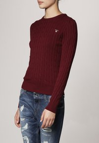 GANT - CABLE CREW - Jumper - bugendy - 2