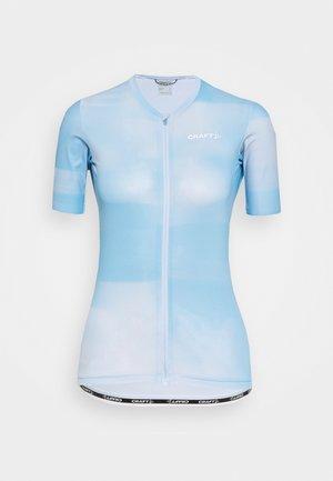 AERO  - Print T-shirt - blue