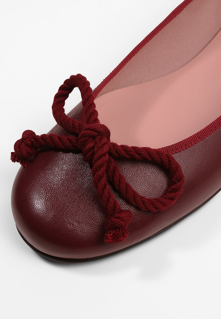 Pretty Ballerinas Klassischer Ballerina rioja tela wine tango/bordeaux