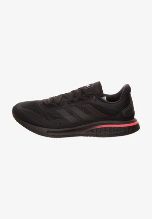 SUPERNOVA  - Neutral running shoes - core black / signal pink