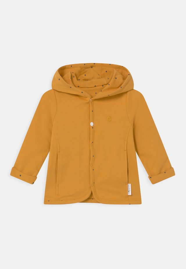 BABY REVERSIBLE BONNY UNISEX - Kardigan - honey yellow