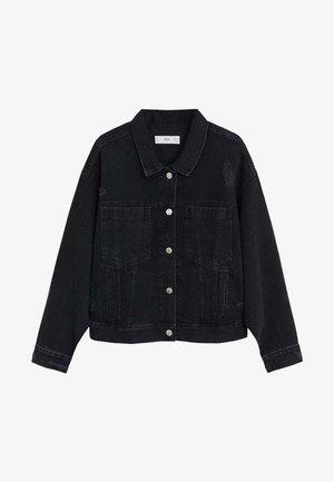 FIONA - Denim jacket - black denim