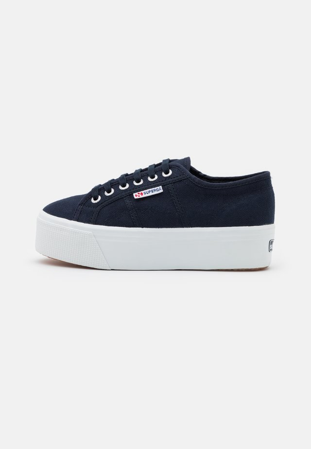 2790 UP & DOWN - Matalavartiset tennarit - navy/white