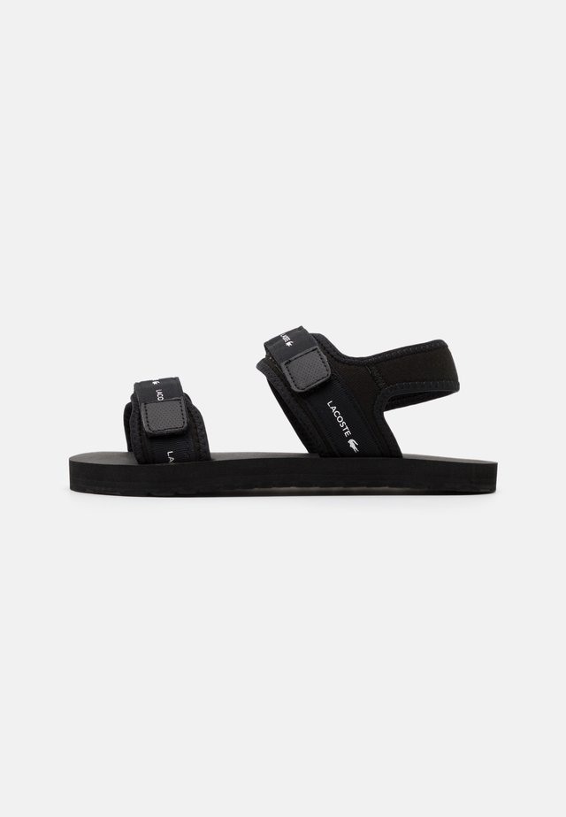 SOL - Walking sandals - black
