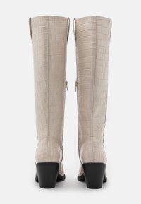 Glamorous Wide Fit - Vysoká obuv - bone - 3