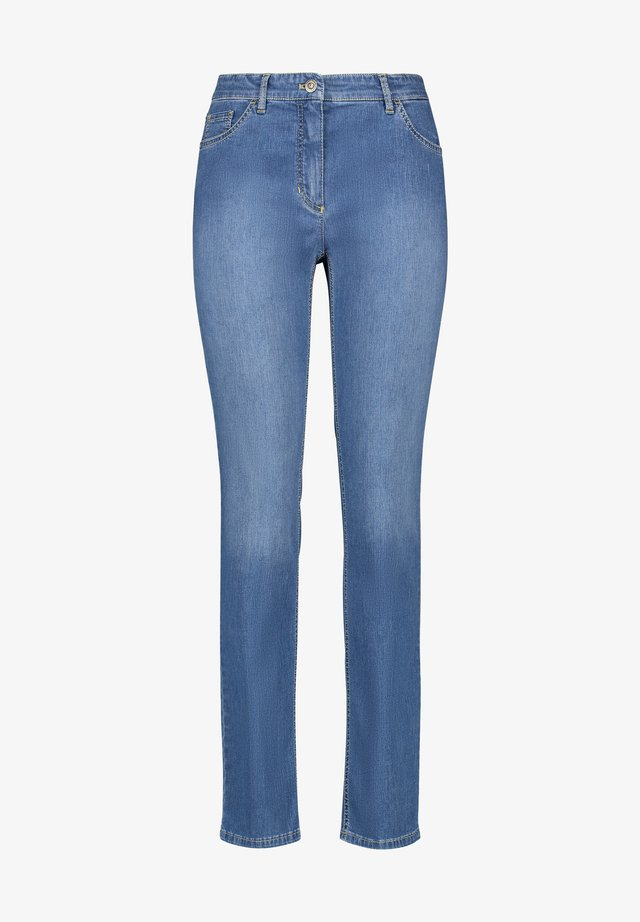 Jeans Straight Leg - blue denim mit use