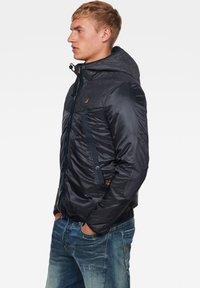 G-Star - SETCALE PADDED HOODED - Light jacket - mazarine blue - 2
