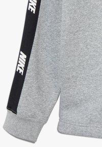 Nike Sportswear - HYBRID  - Hoodie - white/black/dark grey heather - 4