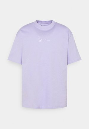 UNISEX SMALL SIGNATURE ESSENTIAL TEE - Basic T-shirt - lilac