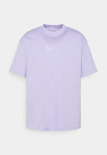 UNISEX SMALL SIGNATURE ESSENTIAL TEE - T-shirt basique - lilac