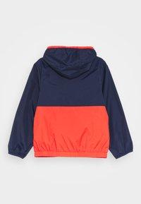 Timberland - HOODED WINDBREAKER - Light jacket - orange - 1