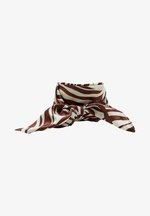 Foulard à cheveux - mottled brown