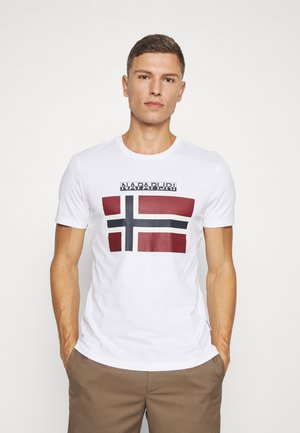 SELLYN - T-shirt med print - bright white