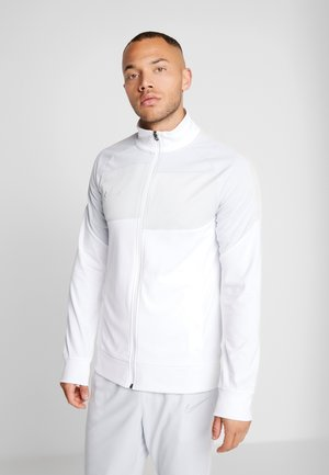 Training jacket - white/pure platinum/reflective silver