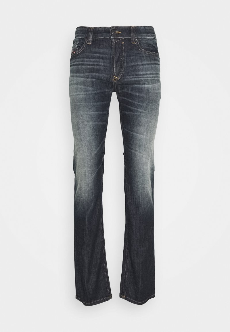 Diesel - SAFADO-X - Straight leg jeans - dark blue denim