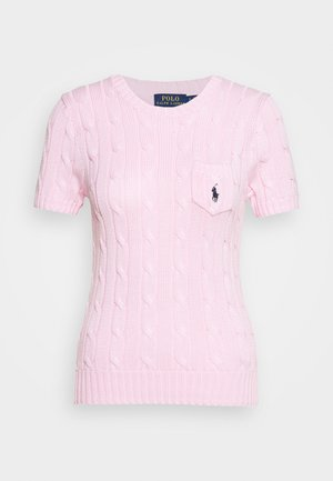 CLASSIC CABLE TEE - Print T-shirt - pink
