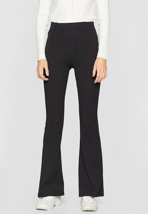 MIT SCHLAG  - Spodnie materiałowe - black