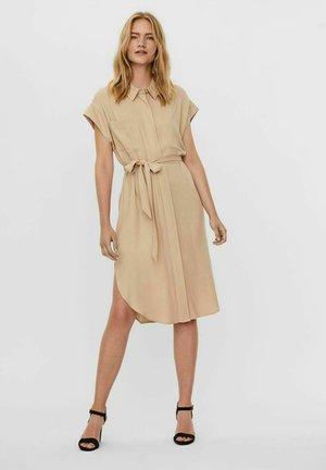 Vestido camisero - beige mottled beige