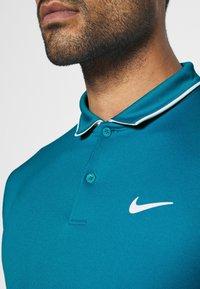 Nike Performance - DRY TEAM - Funkční triko - neo turquoise/white - 5