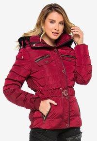 Cipo & Baxx - Winter jacket - burgundy - 7