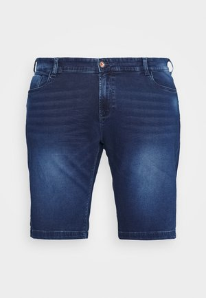 TUCKY PLUS - Shorts vaqueros - dark used