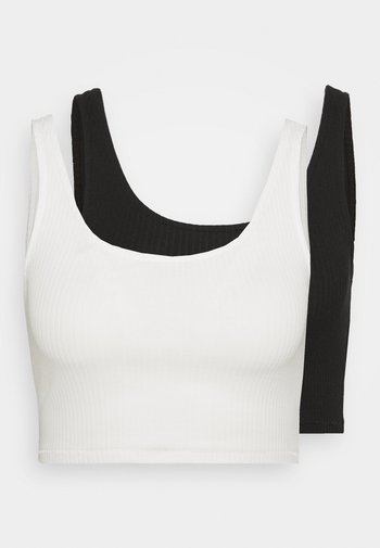 KEY 2 PACK - Top - white/black