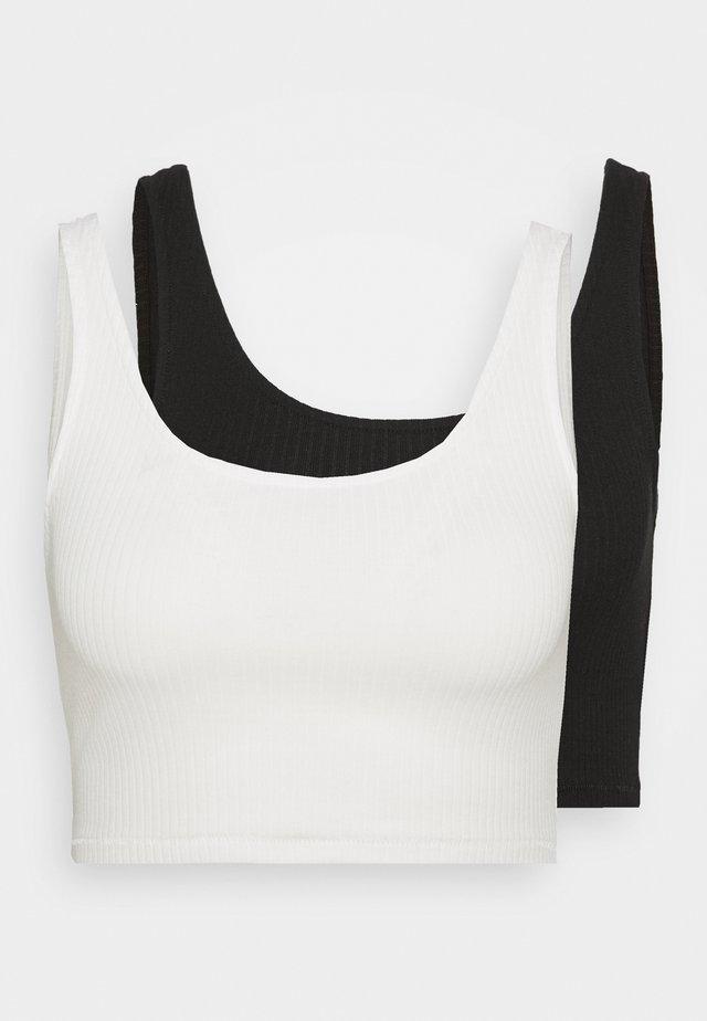 Top - white/black