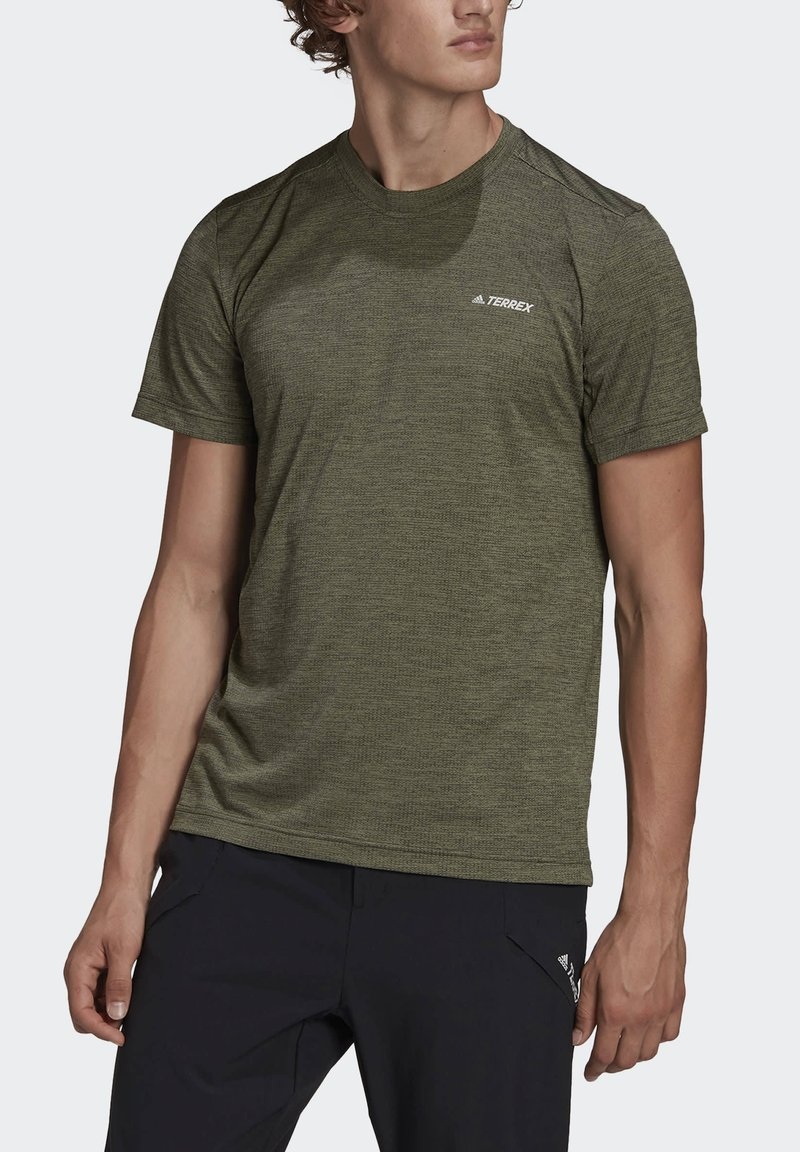 adidas Performance - Camiseta básica - green