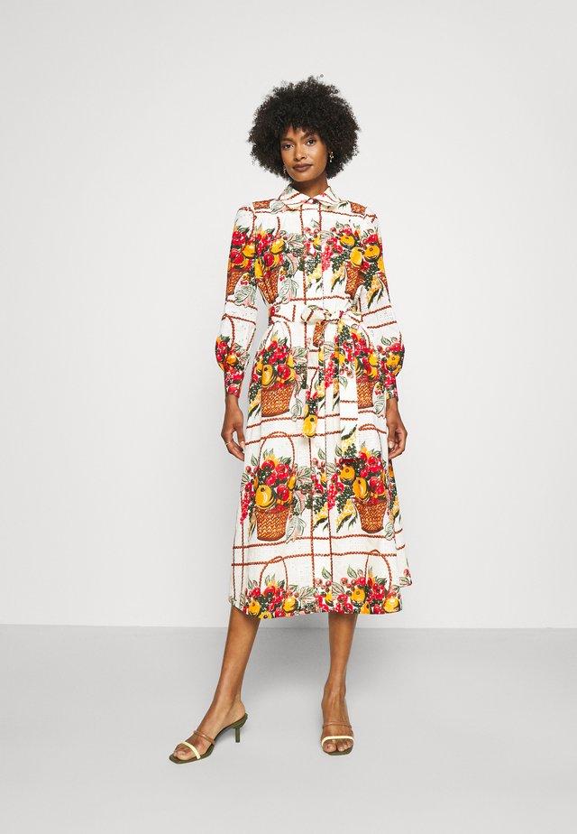 BRODERIE ANGLAISE ARTIST'S DRESS - Korte jurk - fruit basket