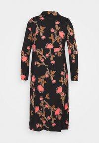 Vero Moda Curve - VMPRIEBE MIDI DRESS - Shirt dress - black - 1