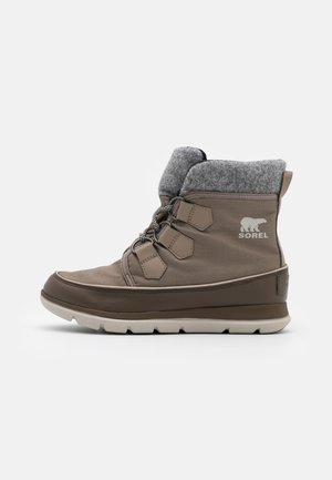 EXPLORER CARNIVAL - Lace-up ankle boots - taupe