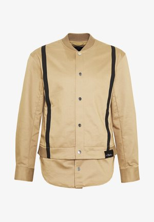 JACKET REMOVABLE TAIL - Short coat - sand