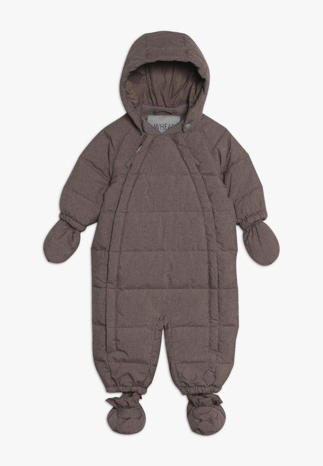 BABY SUIT  - Kombinezon zimowy - plum melange