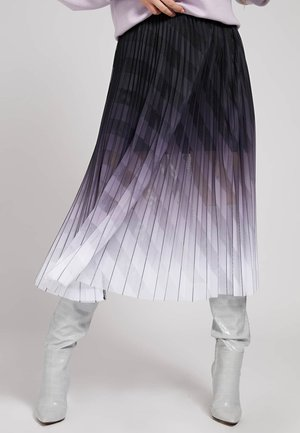 Spódnica trapezowa - grau