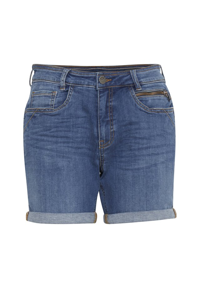 FRJOZOZA  - Denim shorts -  blue denim