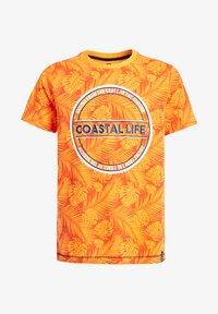 WE Fashion - Print T-shirt - bright orange - 3